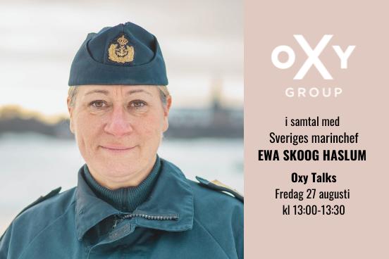 Ewa Skoog Haslum Oxy Talks