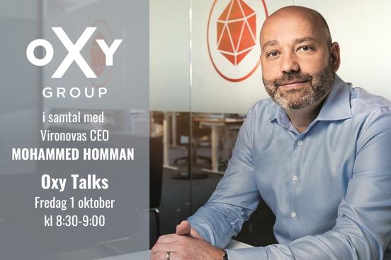 Oxy Talks 1 oktober Mohammed Homman