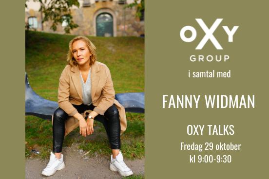 Oxy Talks Fanny Widman